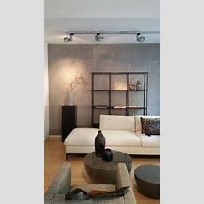 Wand Betonoptik  Modern  Wohnzimmer  München  Von Beton2