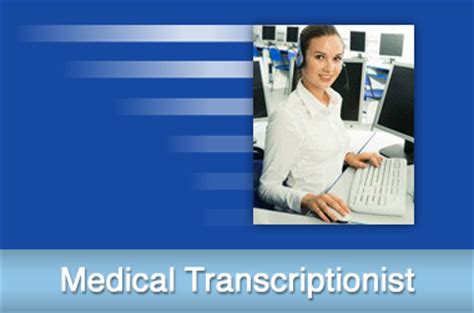transcriptionist from home all jobs at med trans inc
