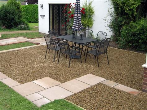 outdoor floor options gravel patio design ideas gravel