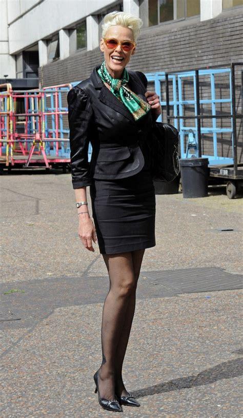 Brigitte Nielsen Skirt Suit   Brigitte Nielsen Looks