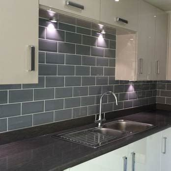 brick effect kitchen tiles grey metro brick effect ceramic tiles ebay 4882
