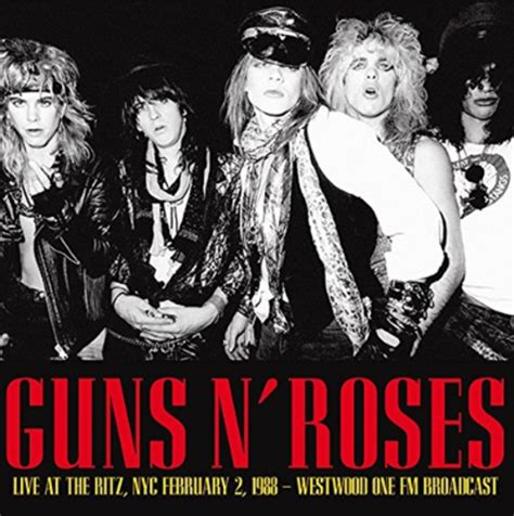 Live At The Ritz Nyc 2/2/88 Music Cd