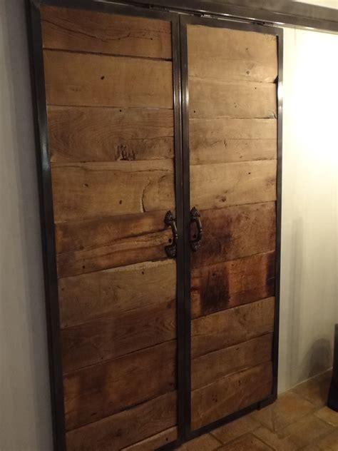 meuble haut cuisine avec porte coulissante porte coulissante grange dootdadoo com idées de