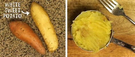 white potatoes recipes mashed white sweet potatoes paleo