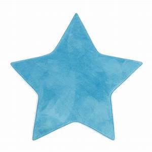 Alinea Tapis Enfant : tapis bleu en forme d 39 toile bleu sweet les tapis de ~ Teatrodelosmanantiales.com Idées de Décoration
