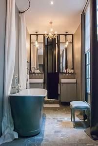 Salle De Bain Style Atelier : porte de douche et miroirs en m tal montagne salle de bain paris par les ateliers du 4 ~ Teatrodelosmanantiales.com Idées de Décoration