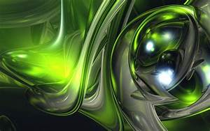 U221a, Green, Abstract, Hd, Wallpapers