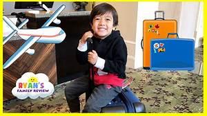 Family Fun Trip Airplane to California! Kid Plays Hide N ...