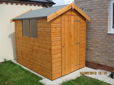 home north wales sheds