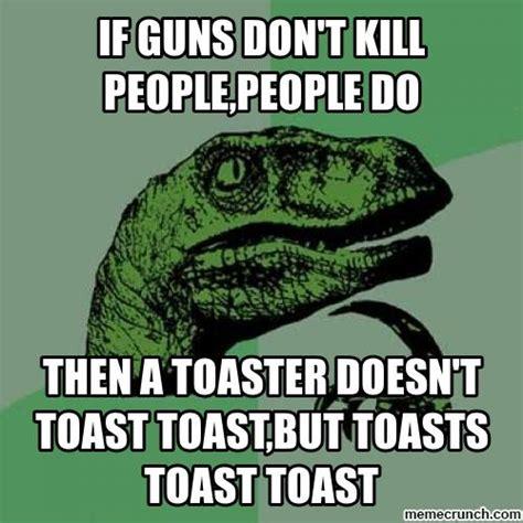 Toast Meme - philosoraptor toast