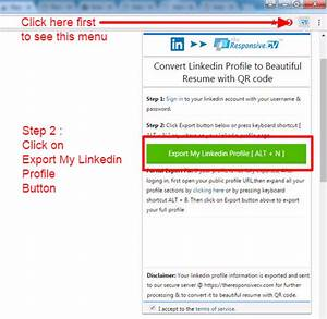 How to download my linkedin profile as pdf document quora for Download document linkedin
