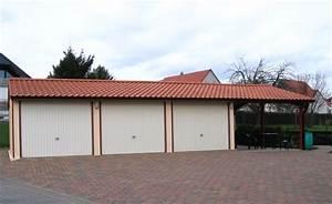 Garage Carport Kombination : betongaragen carport kombination ~ Orissabook.com Haus und Dekorationen