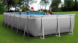 Piscine Tubulaire Hors Sol : piscine hors sol rectangulaire piscines hydro sud ~ Melissatoandfro.com Idées de Décoration