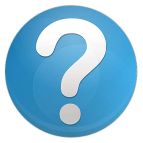 Question Faq Icon Blue Bits Iconset Icojam