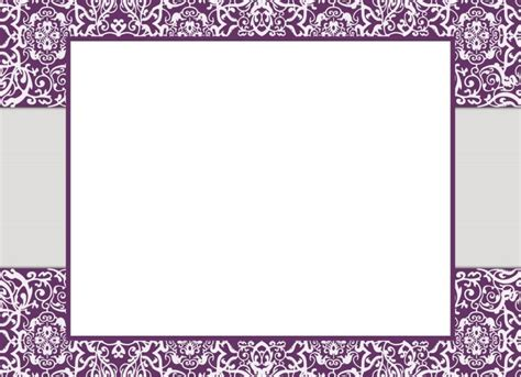 Carte De Vide A Imprimer by Carte Menu Jour De L An Vide 224 Imprimer