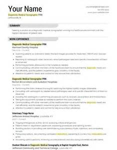resume templates free download 2017 2018 diagnostic medical sonographer resume template