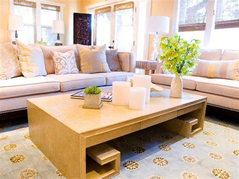 Shop yellow coffee tables at luxedecor.com. Creative Candle Centerpieces   Home Decor Accessories & Furniture Ideas for Every Room   HGTV