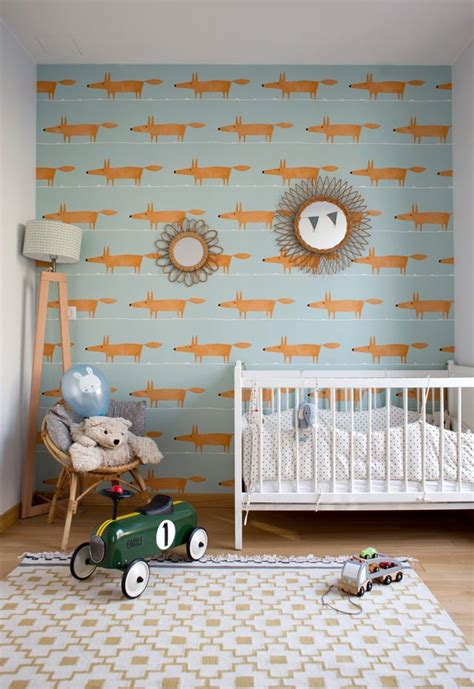 chambre enfant papier peint les 25 meilleures id 233 es concernant papier peint de chambre