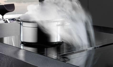 hotte de cuisine sans moteur hotte escamotable sous plan de travail