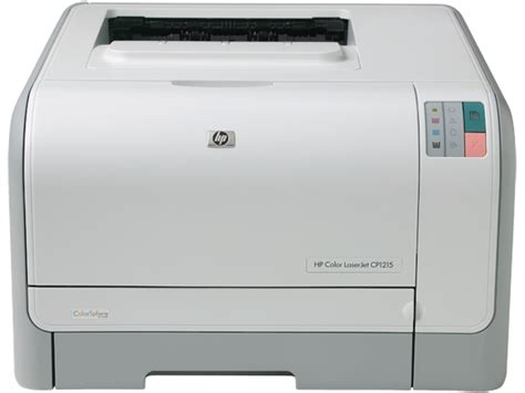 It is compatible with the following operating systems: HP® Color LaserJet CP1215 Printer (CC376A#ABA)