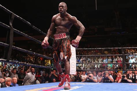 Deontay Wilder aims to be undisputed heavyweight boxing ...