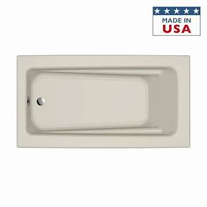 Shop Jacuzzi Primo 60 In Brown Acrylic Rectangular