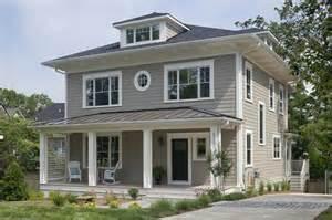 Craftsman Home Paint Colors Exterior Photo