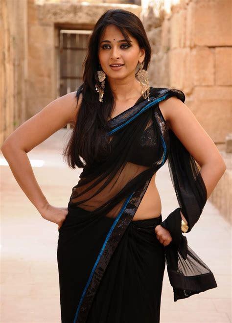 tamil actress anushka hot saree stills famous celebirity