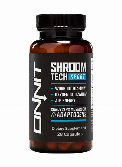 Tech Shroom Sport Onnit Genius Mushrooms Energy