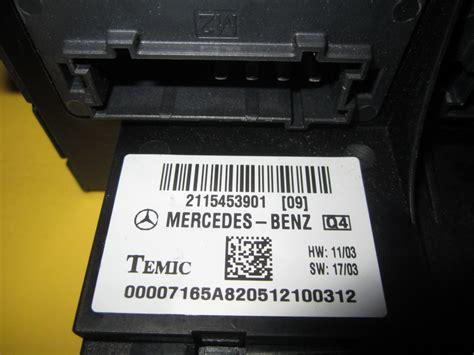 mercedes benz fuse box   auto parts