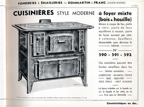 dom ag 1928 pl21ter cuisini 232 res style moderne 224 foyer mixte bois et houille