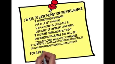 Compare tx car insurance rates and get a quote from travelers.com. Non Owner SR22 Insurance - YouTube