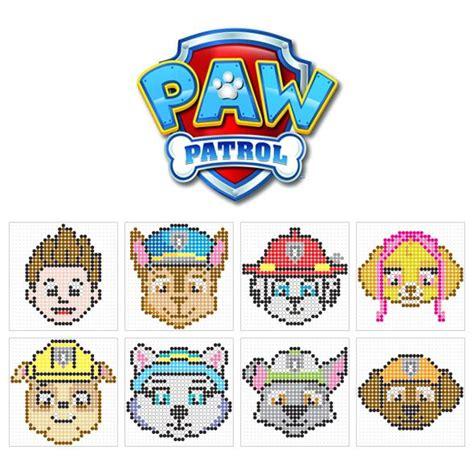 billedresultat  paw patrol perler beads ogs