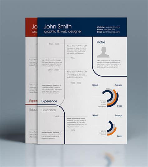 25 best free professional cv resume templates 2014