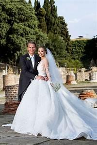 the swarovski heiress gets married in a luxurious wedding With victoria swarovski wedding dress