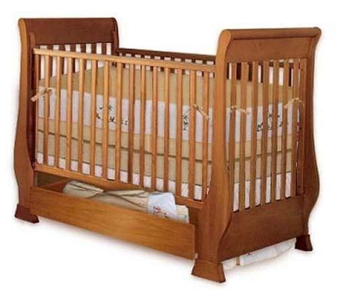 baby sleigh crib bed nursery furniture woodworking plans  paper ebay