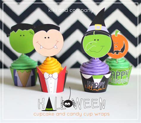 Halloween Cupcake & Candy Cup Wraps Eighteen25
