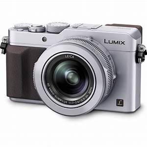 Panasonic Lumix DMC-LX100 Digital Camera (Silver) DMC ...  Panasonic