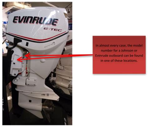 Mercury Boat Motor Identification by Evinrude Outboard Motor Serial Number Locations Evinrude