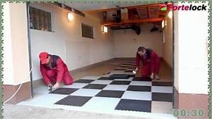 Podlaha do garáže skladba
