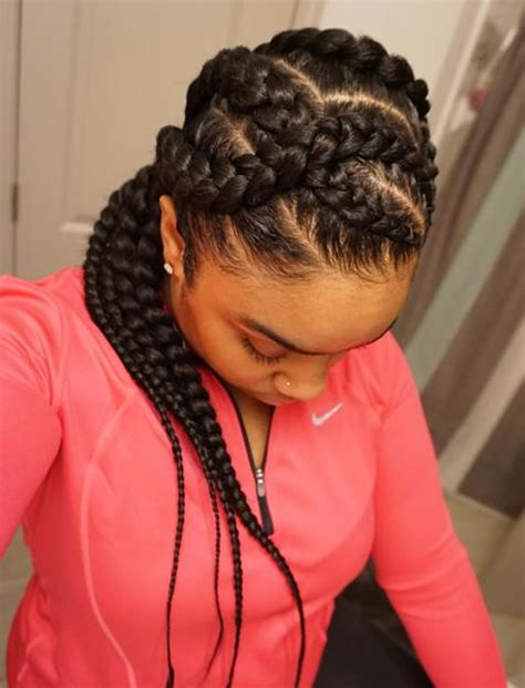 Braided Hairstyles For by 20 Best American Braided Hairstyles For 2017