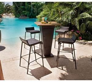 Carrefour Table Jardin : salon de jardin carrefour set bar table 4 chaises prix 231 99 euros ~ Teatrodelosmanantiales.com Idées de Décoration