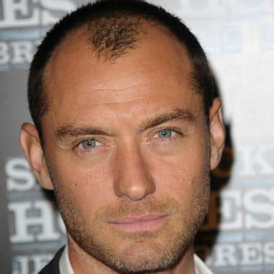 Jude Law's Hair Loss  The Idle Man