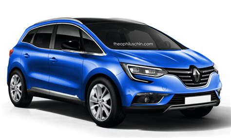 renault scenic 2017 automatic 2017 renault scenic accurately rendered autoevolution