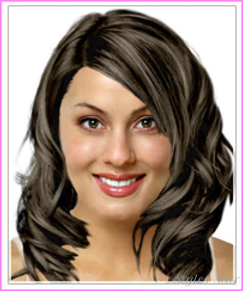 haircuts  oval shaped faces stylesstarcom