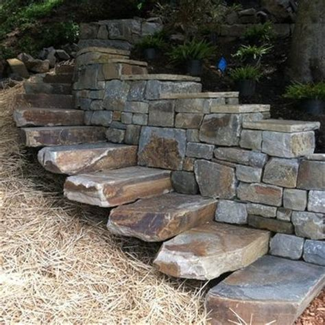 best 25 stairs ideas on rock steps