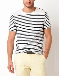 T Shirt Mariniere Homme : t shirt marini re brice ~ Melissatoandfro.com Idées de Décoration