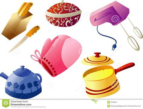 clipart cuisine gratuit vaisselle de cuisine cliparts images stock image 3160254