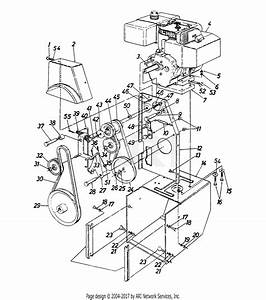 Mtd 316e980i000  1996  Parts Diagram For Belt Drive