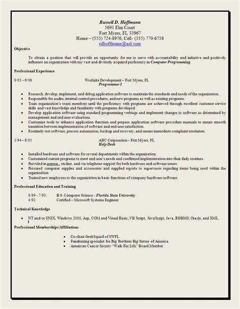 resume accomplishment statement exles social work